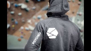 PSYCHED IS LAUNCHED! Clothing - Website - Podcast by Eric Karlsson Bouldering
