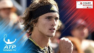 Roger Federer defeated Robin Haase, while Denis Shapovalov's dream run at home was ended by Alexander Zverev.