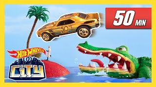 CARS, CREATURES AND MORE! | Hot Wheels City | Hot Wheels