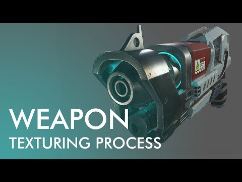 Devblog 3 – Pantropy Laser Pistol Texturing