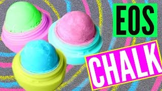 DIY EOS CHALK! Make Sidewalk Chalk! - YouTube