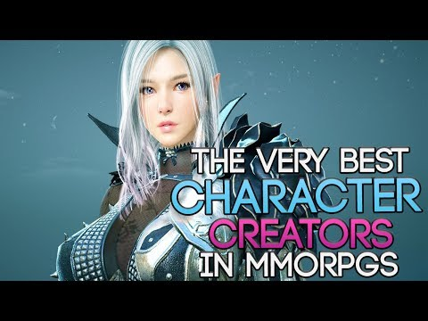 The MMORPGs With The Best Character Creators You Should Try In 2017
