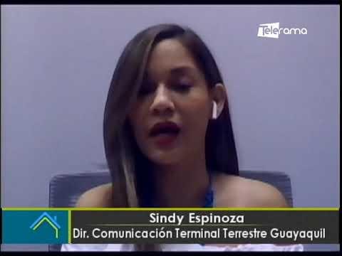 Terminal Terrestre de Guayaquil se alista para recibir de 90 mil viajeros durante el feriado