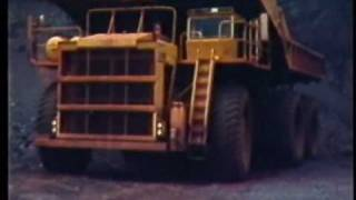 I took this silent movie when I was working at Hamersley Iron's Tom Price iron ore mine in the Pilbara region of WA, in the late 1970's.The smaller haultrucks were Wabco120B and the larger ones were Wabco3200B, ( They carried well over 200 tons of iron ore at a time.) Both were relatively easy to drive once you had got used to their size.I think the quality of the movie is pretty good, considering it's age and the fact that it has been transferred from old Cine film---VHS---DVD---PC and finally to YouTube.