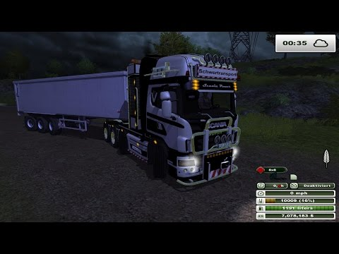 SCANIA 560 heavy duty v2.0 Weissgrau