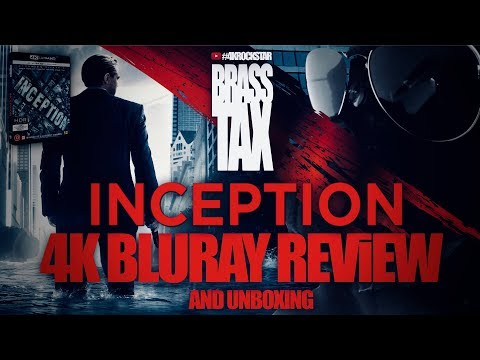 Inception 4K Bluray Review And Unboxing