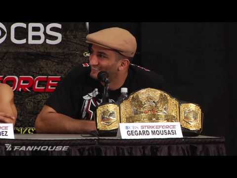 King Mo Takes Over Strikeforce Nashville Press Conference