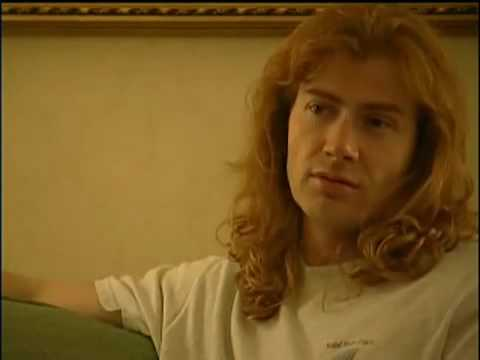 Dave mustaine crying for being kicked out of metallica(somekindOfMonster)