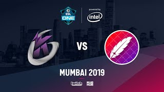 Keen Gaming vs The Pango, ESL One Mumbai 2019, bo3, game 1 [Inmate & Mortales]