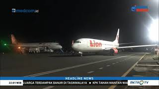Download Video Pesawat Lion Air Tabrak Tiang Lampu Koordinat MP3 3GP MP4