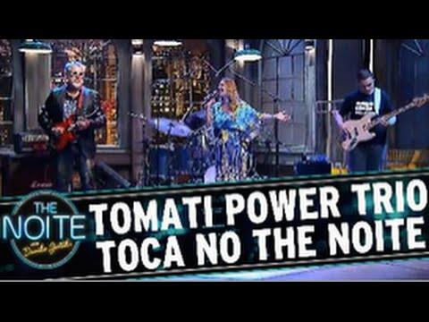 Tomati Power Trio w/ Michelle Spinelli no The Noite do Danilo Gentili - SBT @2015