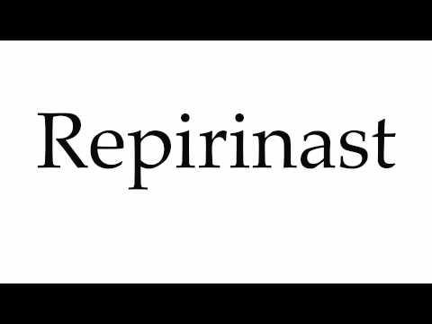 How to Pronounce Repirinast