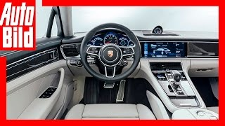 Video: Porsche Panamera 2 Sitzprobe (2016) - Panamera Weltpremiere / Neu / Test by Auto Bild