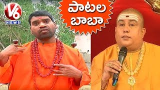 Video Bithiri Sathi Imitates Ramanananda Maharshi | Baba Sings Movie Songs | Teenmaar News MP3, 3GP, MP4, WEBM, AVI, FLV September 2018