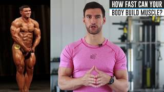 Video How Long Does It Take To Build Muscle? MP3, 3GP, MP4, WEBM, AVI, FLV Juni 2019