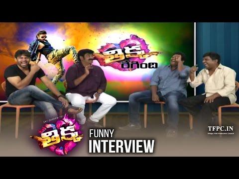 Thikka Team Funny Interview | Sai Dharam Tej | Sathya | Larissa Bonesi | Thagubothu Ramesh | TFPC