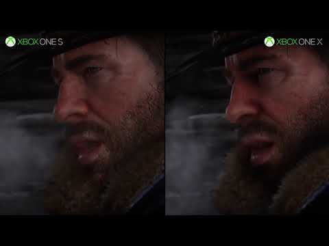 PS4 PS4 Pro vs Xbox One Xbox One X de Red Dead Redemption 2
