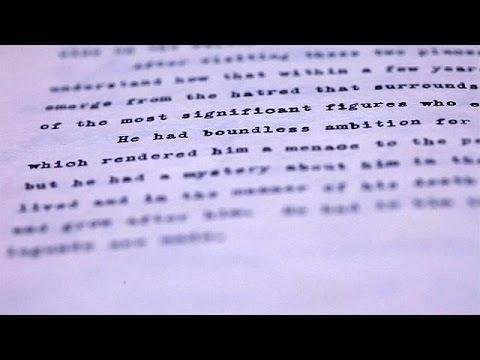 ΗΠΑ: Το ημερολόγιο του JFK για τον «θρύλο» Χίτλερ