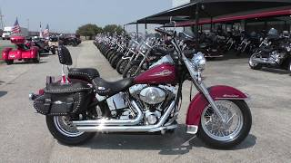 10. 030731 - 2006 Harley Davidson Heritage Softail Classic   FLSTCI - Used motorcycles for sale