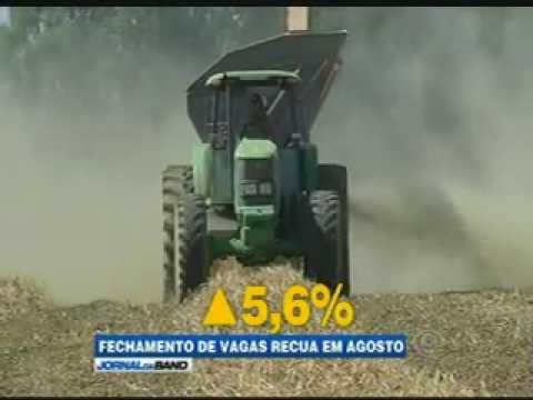 JORNAL DA BAND: PIB do Agronegócio já acumula alta de 2,5% em 2016