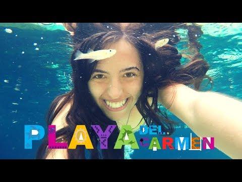 MI VIAJE a PLAYA DEL CARMEN (Cenotes, Snorkel y ROOM TOUR)
