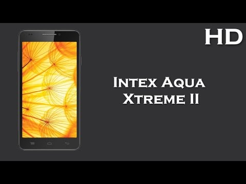 Intex Aqua Xtreme II comes with 5.0 Inch Display 2000mAh battery, 2GB RAM, Android 4.4