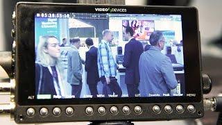 IBC2015: Video Devices Pix-E Recorder & Monitor