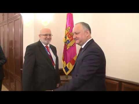Președintele Republicii Moldova a avut o întrevedere cu misiunea BIDDO OSCE