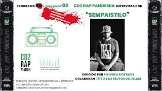 Rap y graffiti con el jerezano Sempaistilo en el nuevo programa de CDZ RAP PANDEMIA