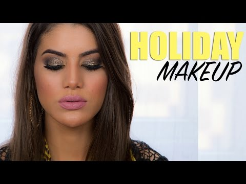 Glam New Year's Eve Makeup