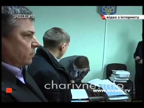 У Рівному прокурор вимагає три мільйони гривень від міліціонерів бо ті не захистили його від Музичка [ВІДЕО]