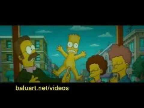 Simpsons la película - Bart Desnudo