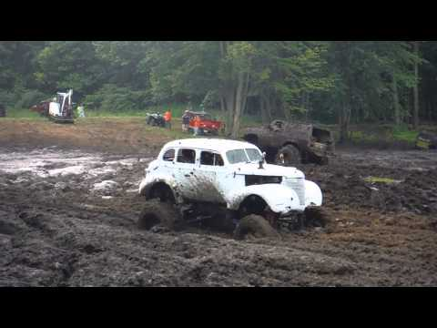 Modded classic gets stuck in the mud