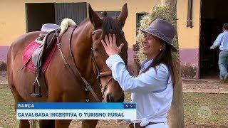 Cavalgada incentiva o turismo rural em Garça
