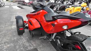 8. 000139 - 2012 Can Am Spyder RSS - SE5 - Used Motorcycle For Sale