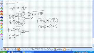 Nor Combinational Logic