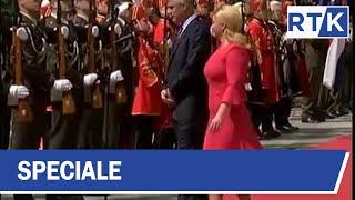Vizita e Presidentit Thaçi në Kroaci 01.06.2017
