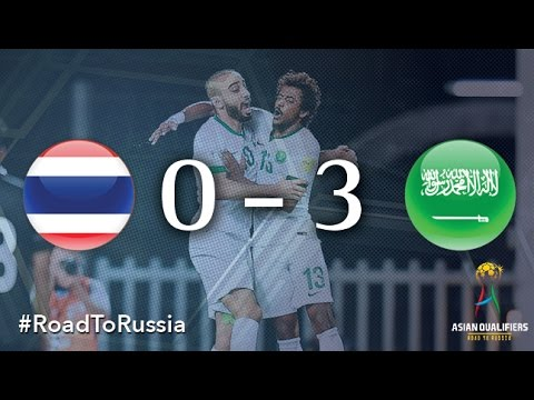 Thailand Vs Saudi Arabia (Asian Qualifiers - Road To Russia)