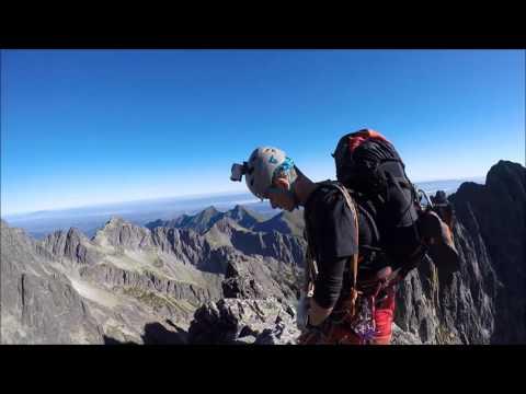 VIDEO: Vidlový hrebeň - Kežmarský štít 2556