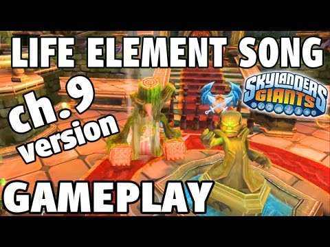 Life Element Song - Gameplay Version (Ch.9 Kaos Castle Skylanders Giants)