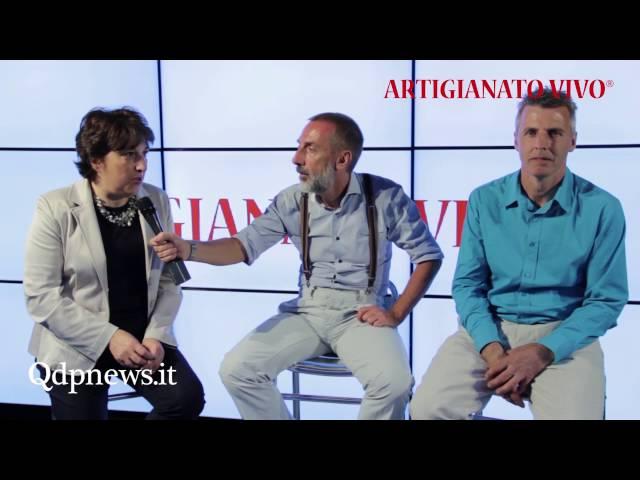 QdpNews Point a Artigianato Vivo 2016 - Cristina Pin e Bruno Possamai