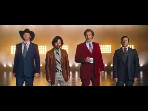 2 - Official Anchorman 2 Teaser Trailer #2 The legend continues this December Join us on Facebook: http://www.Facebook.com/AnchormanMovie Follow San Diego's Favo...