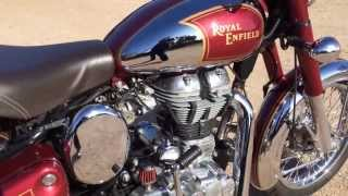 4. 2012 Royal Enfield C5 Classic Chrome EFI - FOR SALE