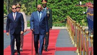 رسائل الرئيس السيسي خلال زيارة السودان