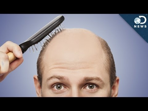 why - As some men mature, they start to lose their hair. What causes men to go bald? Tara investigates. Enter our 1 million subscriber contest by tweeting your favorite DNews video with the hashtag...