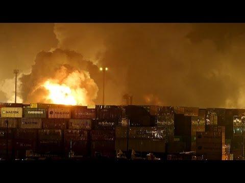 Βραζιλία: Πανικός σε λιμάνι λόγω φωτιάς σε κοντέϊνερ με χημικά