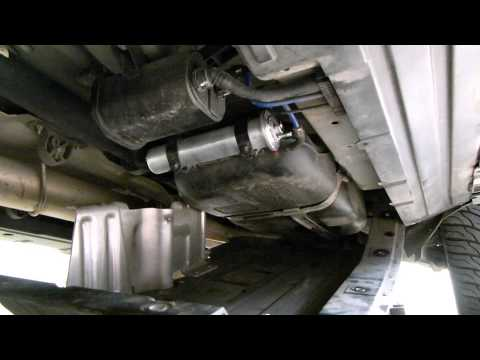 Bmw 530d fuel filter change