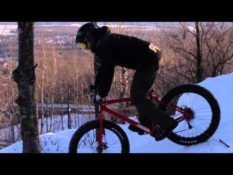Spirit Mountain Snow Biking