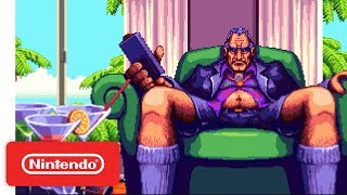 Shakedown: Hawaii is a new open world adventure from the creator of Retro City Rampage, that's business in the front and bodies in the back. From the boardroom to the streets, grow your corporate empire and destroy the competition. Coming to Nintendo Switch and Nintendo 3DS!Learn more about Shakedown: Hawaii! https://goo.gl/ygHV47#NintendoSwitch #Nintendo3DS #ShakedownHawaii #NindiesSubscribe for more Nintendo fun! https://goo.gl/09xFdPVisit Nintendo.com for all the latest! http://www.nintendo.com/Like Nintendo on Facebook: http://www.facebook.com/NintendoFollow us on Twitter: http://twitter.com/NintendoAmericaFollow us on Instagram: http://instagram.com/NintendoFollow us on Pinterest: http://pinterest.com/NintendoFollow us on Google+: http://google.com/+Nintendo