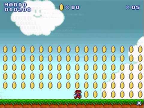 Super Mario Flash - Crossing